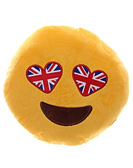 Union Flag Eyes Emotive Cushion