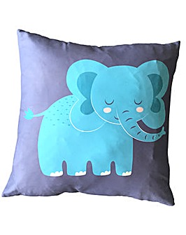 Decorative Fun Animal Cushion - Elephant