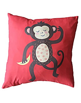 Decorative Fun Animal Cushion - Monkey