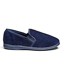 Classic Slippers Wide Fit