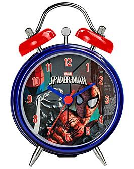SPIDERMAN MINI TWIN BELL ALARM CLOCK