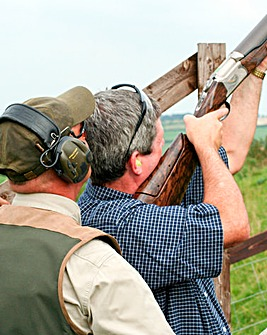 Clay Shooting & Refreshments for Two