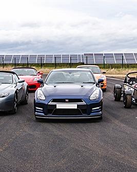 Five Supercar Blast plus Ride & Photo