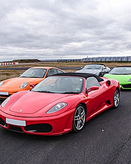 Four Supercar Blast plus Ride & Photo