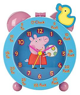 PEPPA PIG TIME TEACHING ALARM CLOCK