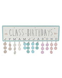 Class Birthday