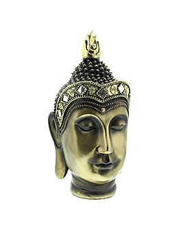 Antique Gold Colour Buddha Head