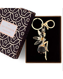 Jon Richard crystal fairy keyring