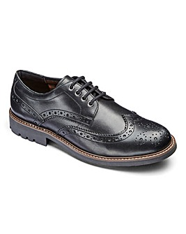 Trustyle Brogue Extra Wide Fit