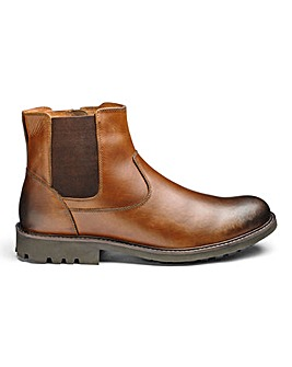 Leather Chelsea Boot Extra Wide