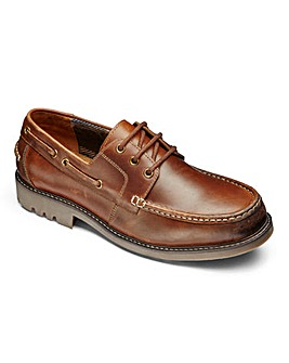 Trustyle Chunky Boat Shoe Extra Wide Fit
