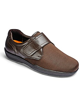 Stretch Touch & Close Shoe Extra Wide