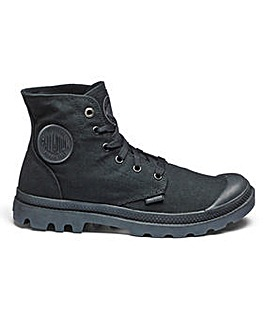 Palladium Monochrome Lace Up Boot