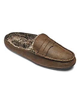 Moccasin Mule Slipper