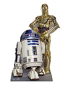 Star Wars The Driods 166cm Cutout