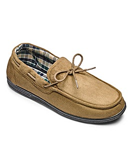Moccasin Slipper Wide Fit