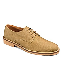 Joe Browns Canvas Derby Shoe Ex Wide Fit