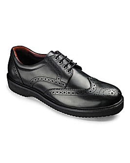 Lightweight Brogue Wide Fit