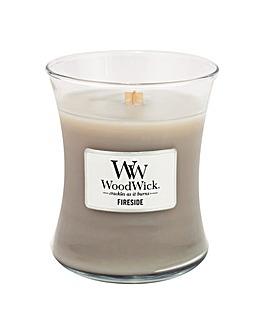 Woodwick - Fireside  Med