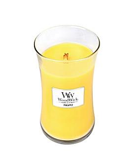 Woodwick -  Pineapple  Large