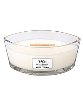 Woodwick - White Tea & Jasmine HW