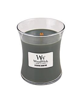 Woodwick - Evening Bonfire  Med