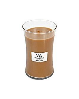 Woodwick - Oatmeal Cookie   Large