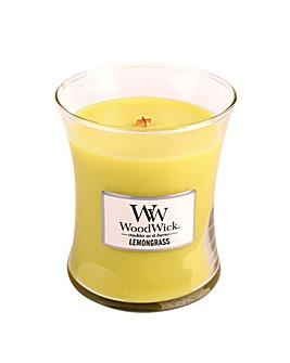 Woodwick - Lemongrass  Med