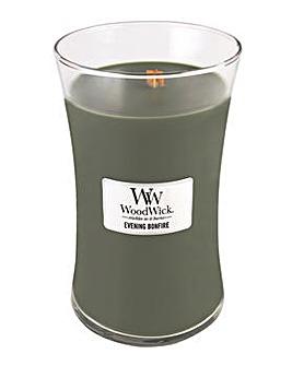 Woodwick - Evening Bonfire  Large