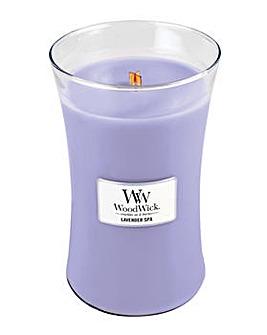 Woodwick - Lavender Spa  Large