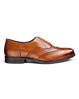 Formal Oxford Brogue Extra Wide Fit