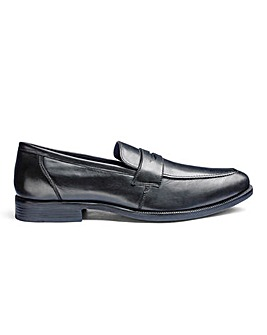 Formal Saddle Loafer Extra Wide Fit