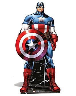 Marvel Captain America 177cm Cut Out
