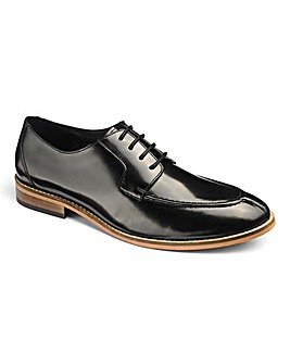 Leather Premium Apron Toe Formal Shoe
