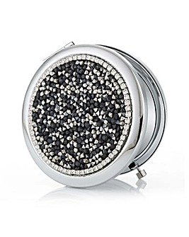 Mood Crystal Cluster Compact Mirror