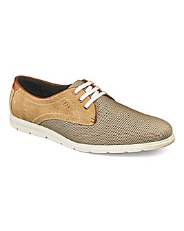 Mesh Lace Up Casual Shoe