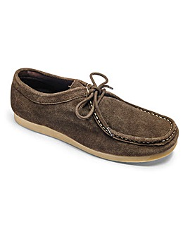 Suede Wallaby Wide Fit