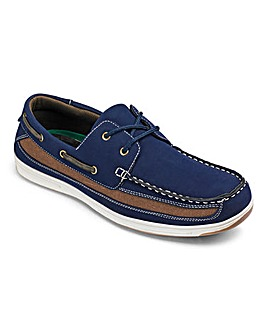 Cushion Walk Boat Shoe Wide Fit