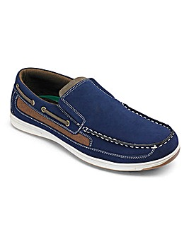 Cushion Walk Slip On Boat Shoe Wide