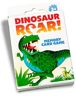 Dino Roar Memory Card Game