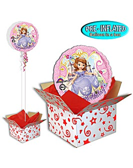 Sofia The 1st Birthday Balloon In A Box