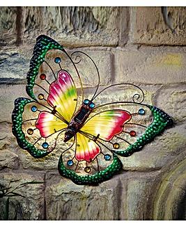 Solar Butterfly Wall Art