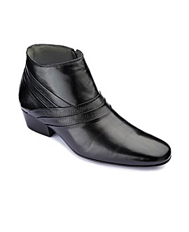 Stride Tall Cuban Heel Boots Wide Fit