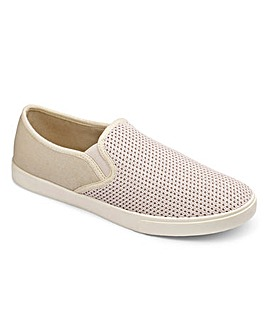 Southbay Slip On Espadrille Wide Fit