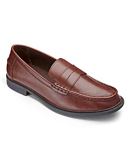 Trustyle Saddle Loafers Wide Fit