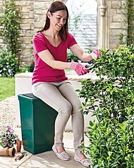 Garden Bin and Seat