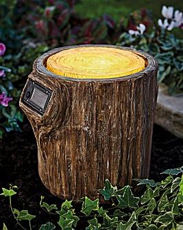 Solar Tree Stump