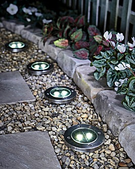 Floor Solar Lights Set of 4