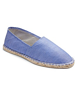 Southbay Blue Slip-On Espadrilles