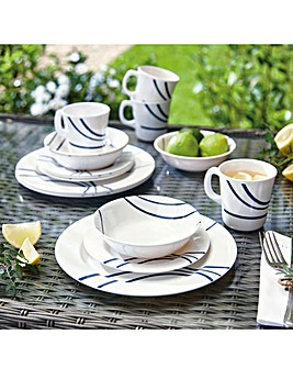 Melamine Outdoor Dining Set 16pc